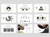 Attorney & Lawyer Presentation Infographics Slide