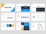 Brand Identity Guidelines Presentation Typography Slide