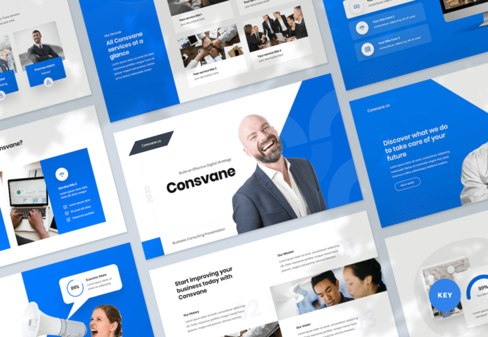 Business Consulting Keynote Presentation Template