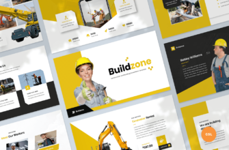 Construction & Building Google Slides Presentation Template