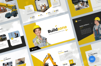 Construction & Building Keynote Presentation Template