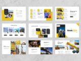 Construction & Building Presentation Portfolio Slide