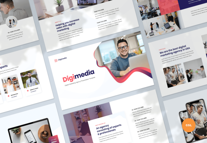 Digital Marketing Agency Google Slides Presentation Template