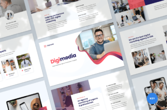 Digital Marketing Agency Keynote Presentation Template