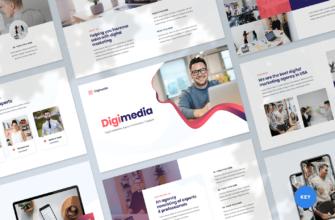 Digital Marketing Agency Keynote Presentation Template