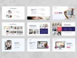 Digital Marketing Agency Presentation Portfolio Slide