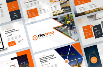 Electrical Services Google Slides Presentation Template