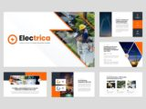 Electrical Services Presentation About Us Slide