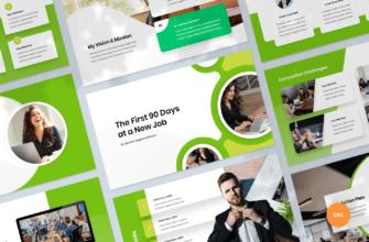 First 90 Days Plan Google Slides Presentation Template