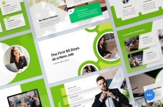 First 90 Days Plan Keynote Presentation Template
