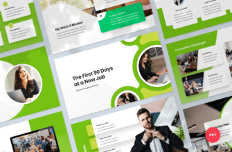 First 90 Days Plan PowerPoint Presentation Template