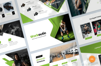 Fitness & Gym Google Slides Presentation Template