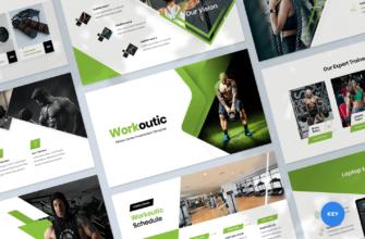 Fitness & Gym Keynote Presentation Template