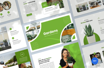 Garden & Landscaping Keynote Presentation Template