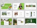 Garden & Landscaping Presentation About Us Slide
