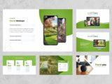 Garden & Landscaping Presentation Mockups Slide