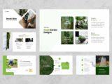 Garden & Landscaping Presentation Portfolio Slide