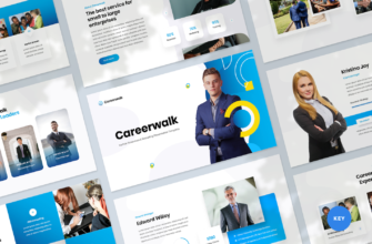 Human Resources & Recruiting Keynote Presentation Template