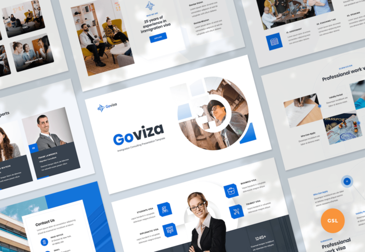 Immigration Consulting Google Slides Presentation Template