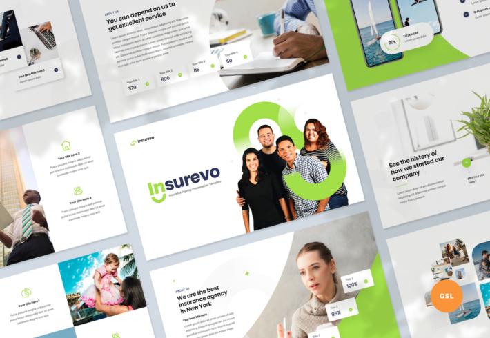Insurance Agency Google Slides Presentation Template