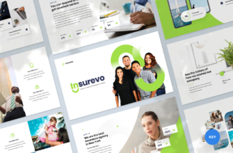 Insurance Agency Keynote Presentation Template