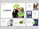 Insurance Agency Presentation About Us Slide