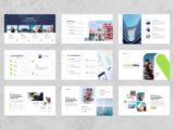 Insurance Agency Presentation Portfolio Slide
