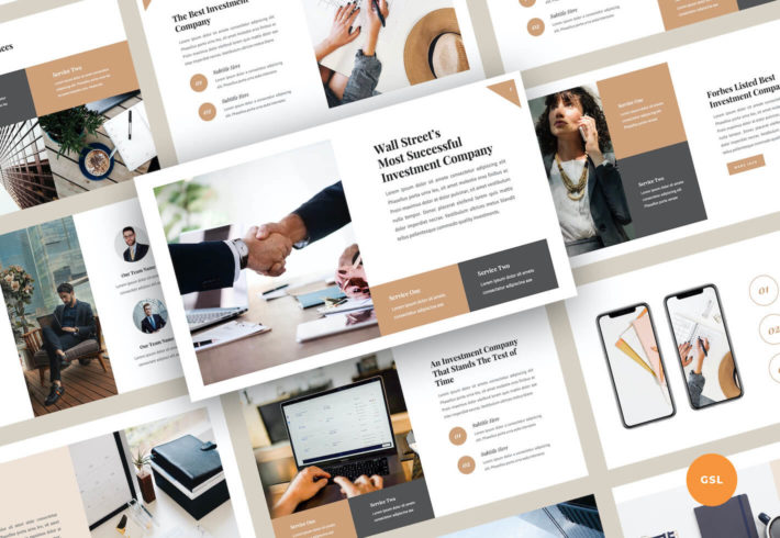 Investments Google Slides Presentation Template