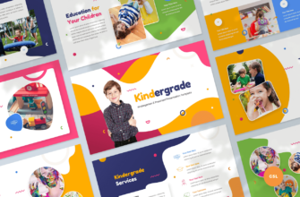 Kindergarten & Preschool Google Slides Presentation Template