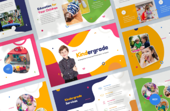 Kindergarten & Preschool Keynote Presentation Template