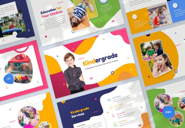 Kindergarten & Preschool Keynote Presentation Template
