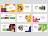 Kindergarten & Preschool Presentation About Us Slide