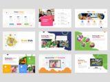 Kindergarten & Preschool Presentation Mockups Slide