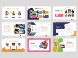 Kindergarten & Preschool Presentation Teachers Slide