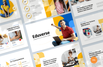 Language Course Google Slides Presentation Template