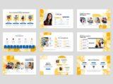 Language Course Presentation Team Slide