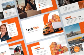 Logistics & Transport Google Slides Presentation Template