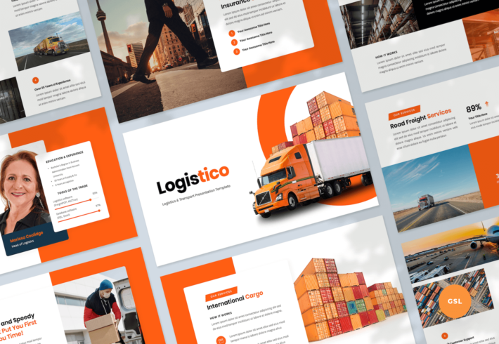 Logistics & Transport Google Slides Presentation Template
