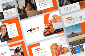Logistics & Transport Keynote Presentation Template