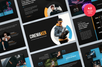 Movie Studio & Film Maker PowerPoint Presentation Template