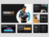 Movie Studio & Film Maker Presentation About Us Slide