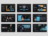 Movie Studio & Film Maker Presentation Team Slide