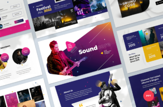 Music Band PowerPoint Presentation Template