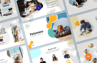 Pet Care & Veterinary Google Slides Presentation Template