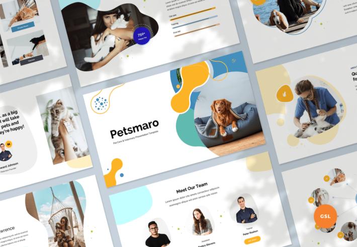 Pet Care & Veterinary Google Slides Presentation Template