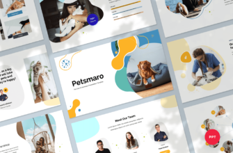 Pet Care & Veterinary PowerPoint Presentation Template