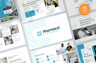 Pharmacy Health Google Slides Presentation Template