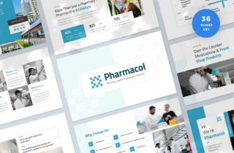Pharmacy Health Keynote Presentation Template