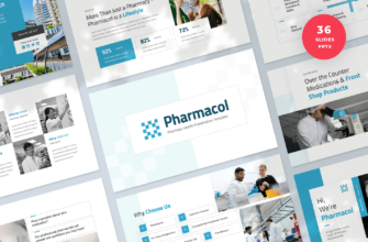 Pharmacy Health PowerPoint Presentation Template