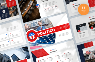 Political Election Campaign Google Slides Presentation Template